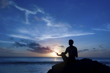 Mornings and evenings are usually the best times to meditate.